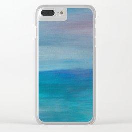 Ocean Mermaid Series, 3 Clear iPhone Case