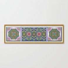 A Spring Flower Garden Canvas Print