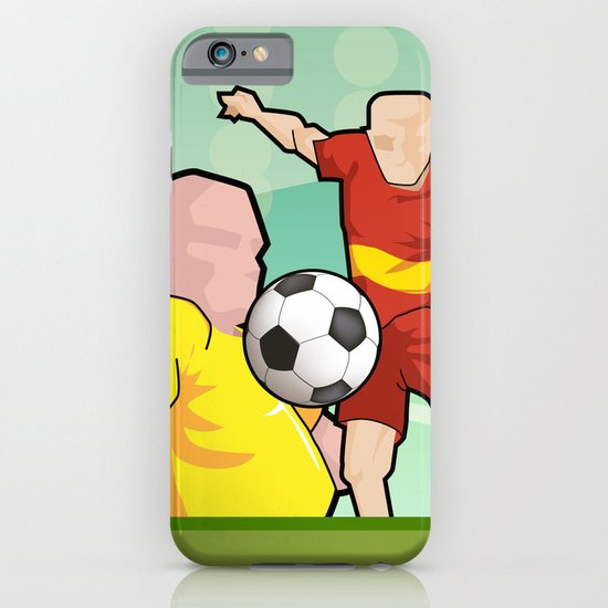 Soccer game iPhone & iPod Case