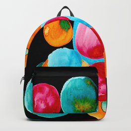 Abstract Watercolor Bubbles with Personality Backpack
