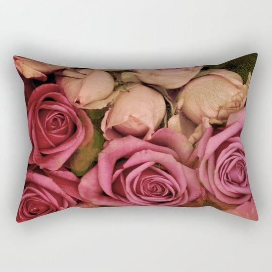Romantic roses(4) Rectangular Pillow