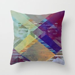 the squanch Throw Pillow
