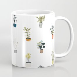 plants in pots Coffee Mug