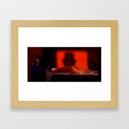 Shadow of the Ripper Framed Art Print
