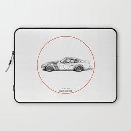 Crazy Car Art 0001 Laptop Sleeve