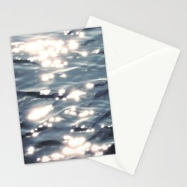 Sunlight on Ocean Water Waves Stationery Cards