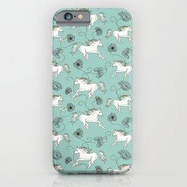 Horse Pattern | Horseback Riding Pony Stallion iPhone Case
