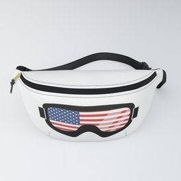USA Goggles | Goggle Designs | DopeyArt Fanny Pack
