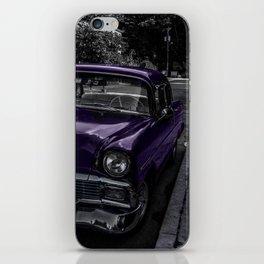 Lilac Ride iPhone Skin