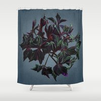 dark side of the moon Shower Curtains featuring Dark side of the moon by Ordiraptus