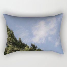 Two Levels of Earth Rectangular Pillow