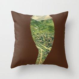 ...To The Birds Throw Pillow