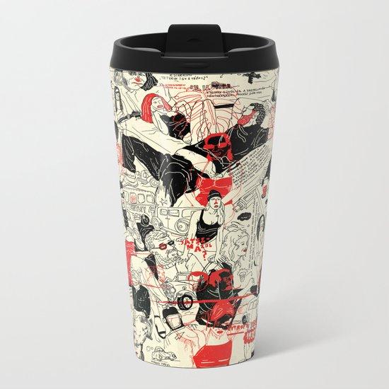 Green sli Metal Travel Mug