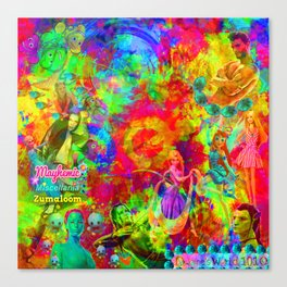 MaYhEmIc Miscellania: ZUMALOOM 14 Canvas Print