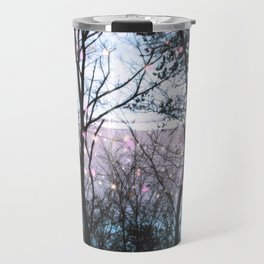 Lights in the Woods Travel Mug