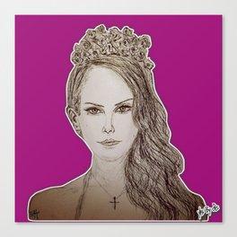 (Queen Elizabeth - Lana) - yks by ofs珊 Canvas Print