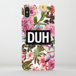 DUH iPhone Case
