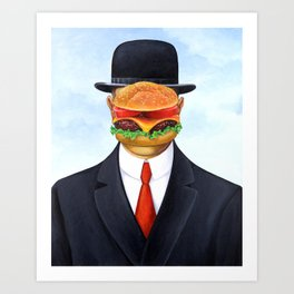 Son of Hamburger Art Print