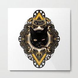 Gato de Gueto Metal Print