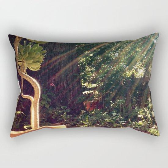Sunshine on succulents Rectangular Pillow