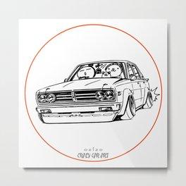 Crazy Car Art 0222 Metal Print