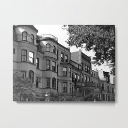 Along the City Streets 2 Metal Print