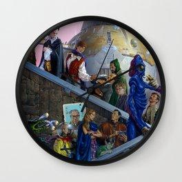 Immigrants Wall Clock