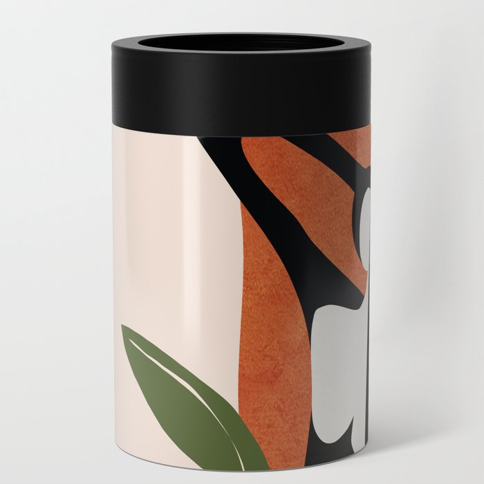 Abstract Female Figure 20 Can Cooler