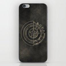 Capt America iPhone & iPod Skin