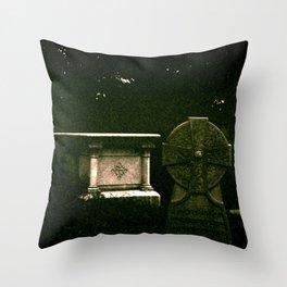 Celtic Stone Throw Pillow