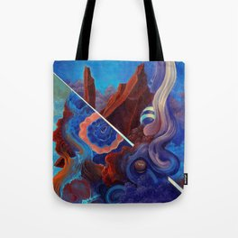 The pull of surrender Tote Bag