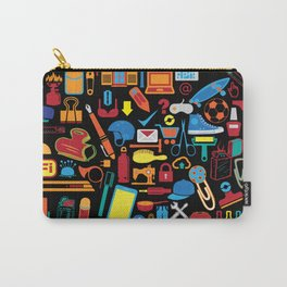 All things matter (Black) Carry-All Pouch