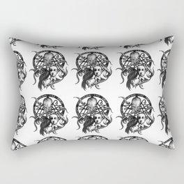 H P Lovecraft fanart Rectangular Pillow