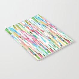 vertical brush strokes  Notebook