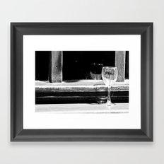 Fancy a glass of wine? Framed Art Print