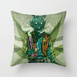 Weedo Throw Pillow