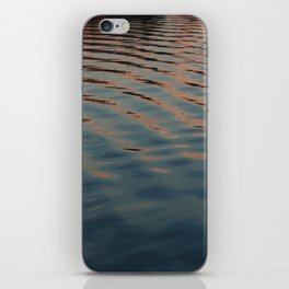 sunset ripples iPhone Skin