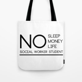 Social Worker Student Gifts For Graduation Social Worker Tote Bag