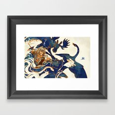 A Distant Dream - Kaukainen Uni Framed Art Print