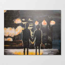 You Met Me At A Very Strange Time Canvas Print