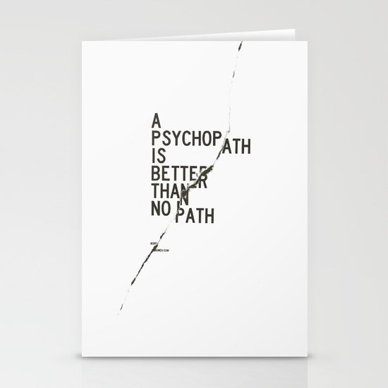 Psychopath Stationery Cards