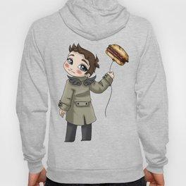 Castiel Loves Hamburgers Hoody