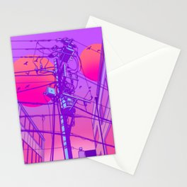 Anime Wires Stationery Cards