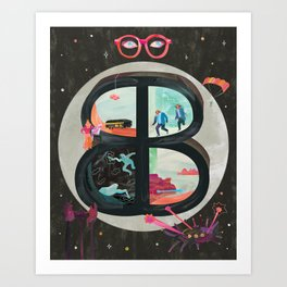 The Adventures of Buckaroo Banzai Art Print