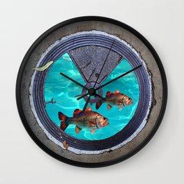 glitterfish Wall Clock
