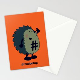 Don't forget the hedgetag! Stationery Cards