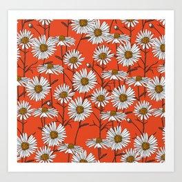 Freya's sacred flower Art Print