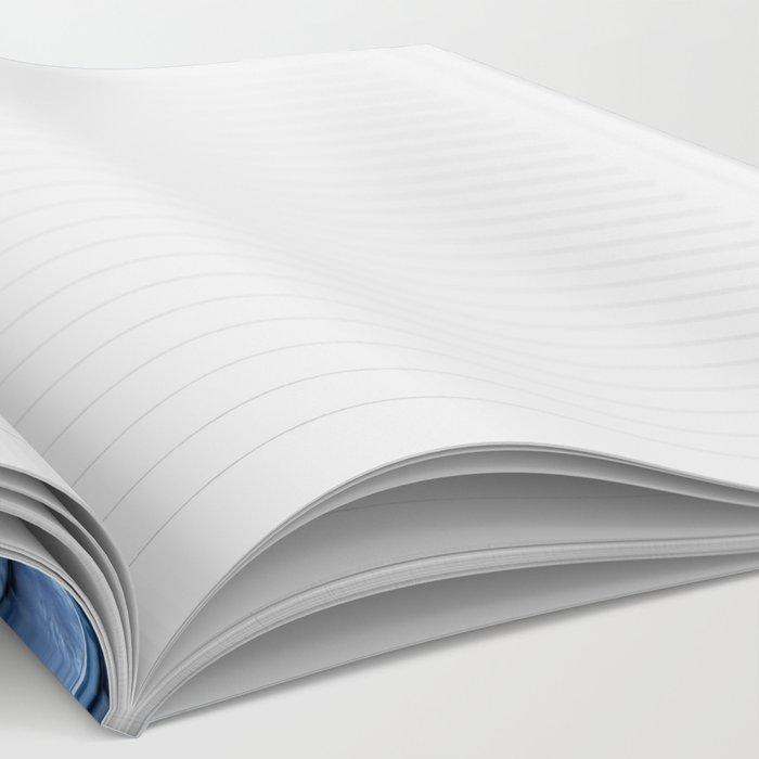Blue Sparkling Glitter Mermaid Scales - Mermaidscales Notebook