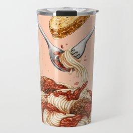 Spaghetti Mandala Travel Mug