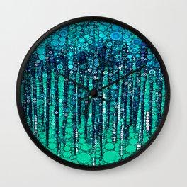 :: Blue Ocean Floor :: Wall Clock